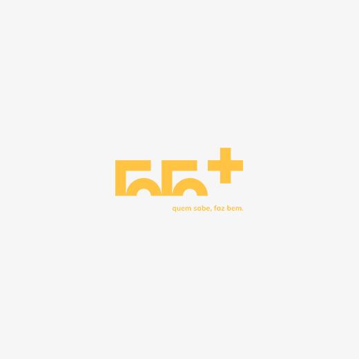 logo 55+