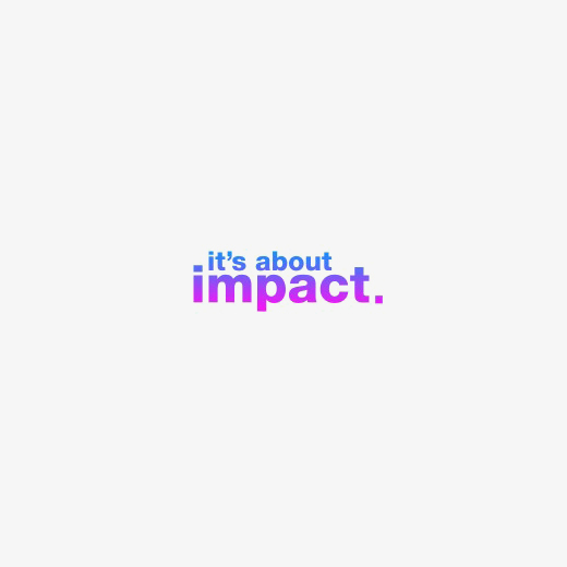Logotipo It's About Impact