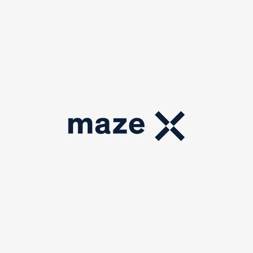 logo maze-x