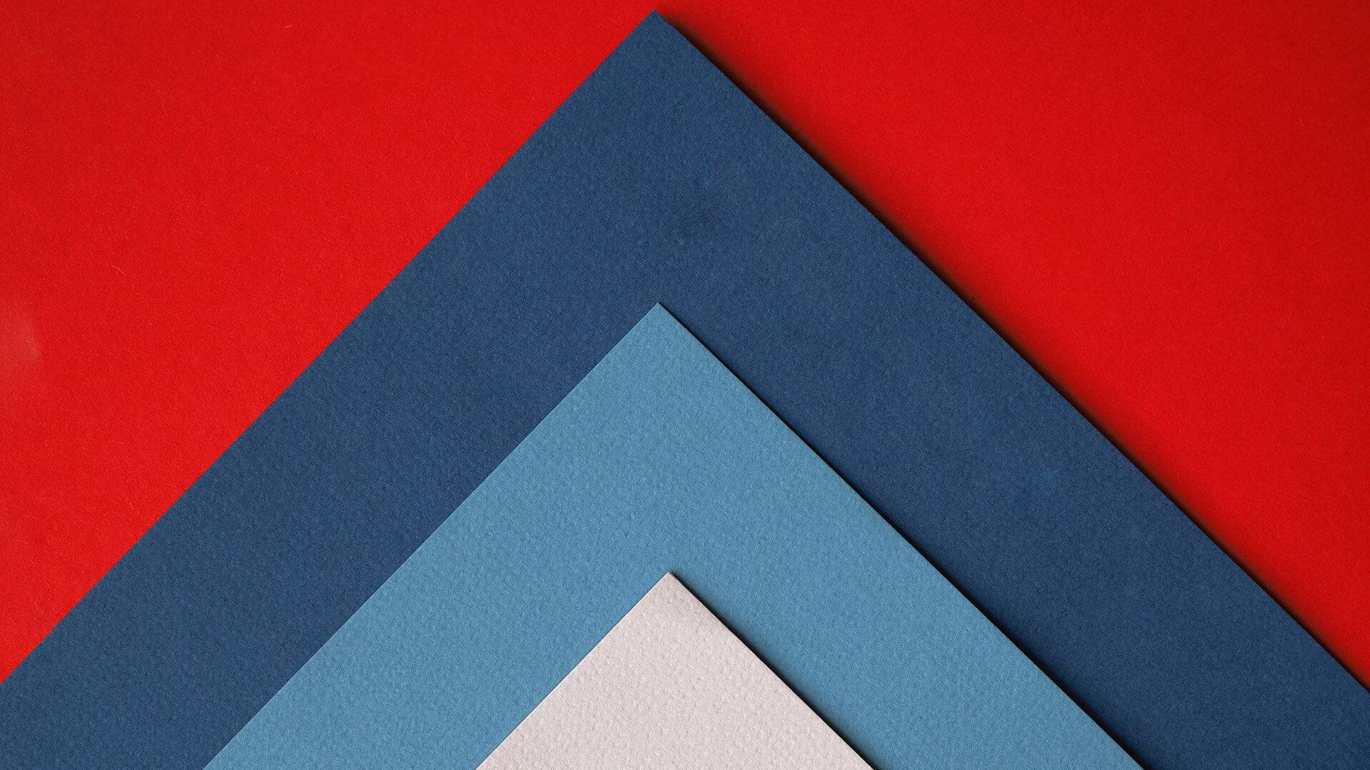 padrão com triangulos