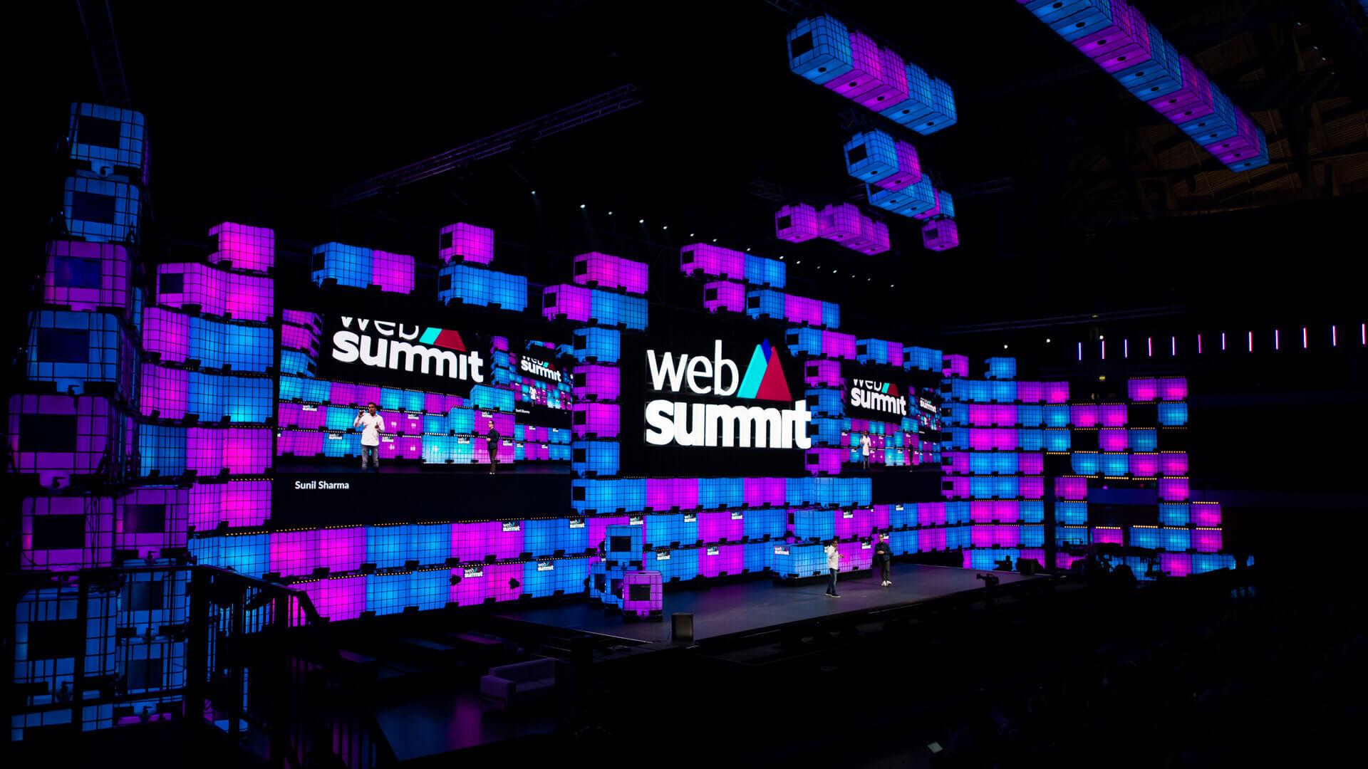 palco web summit