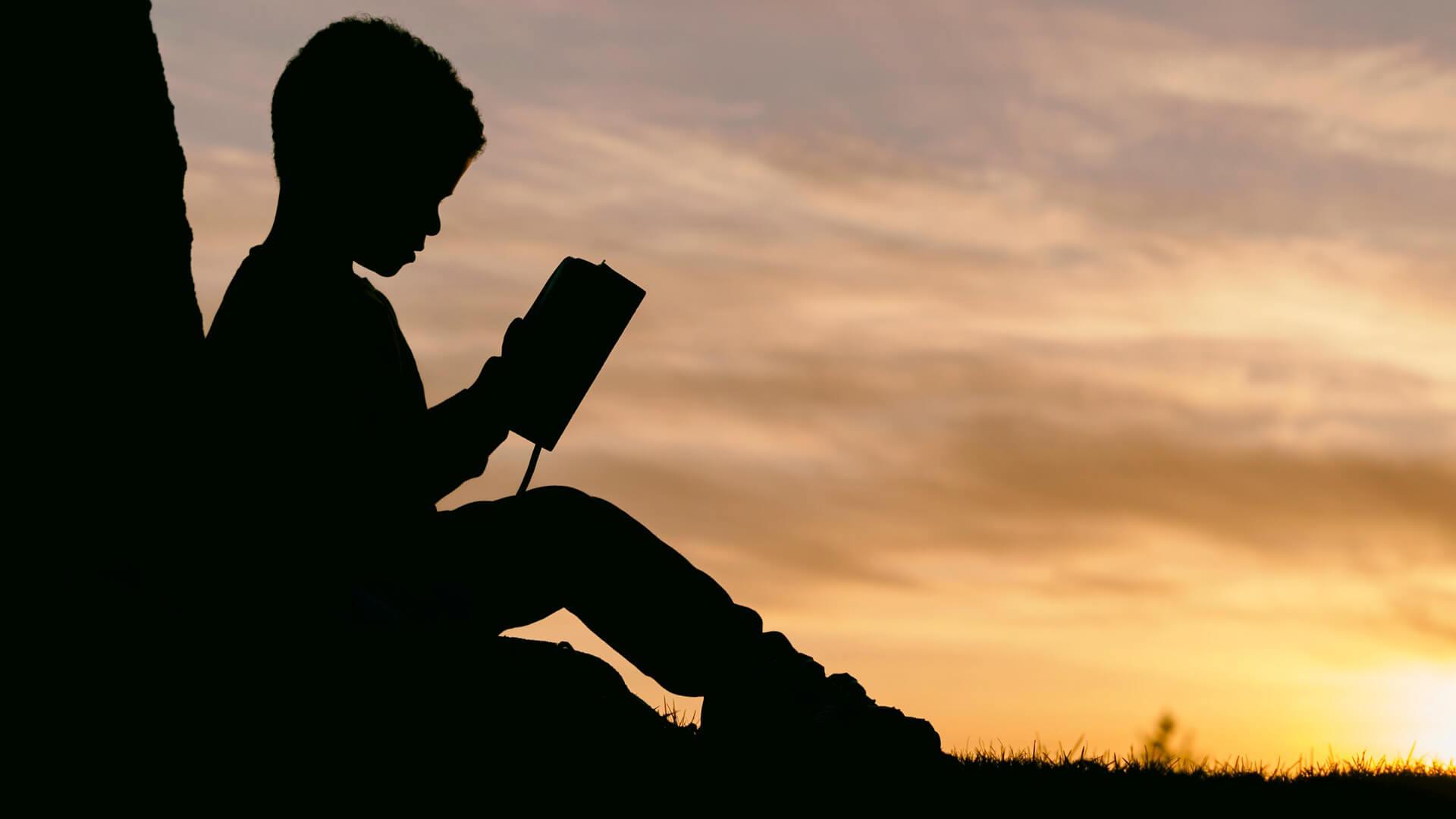Rapaz a ler