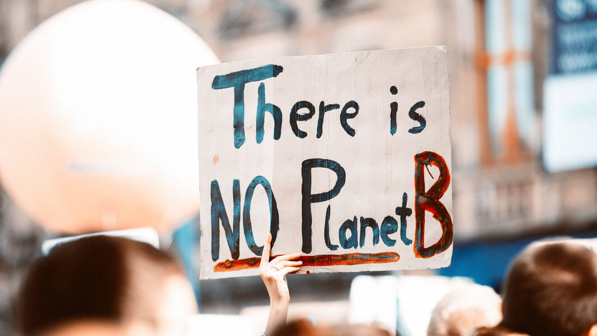 cartaz there is no planet b